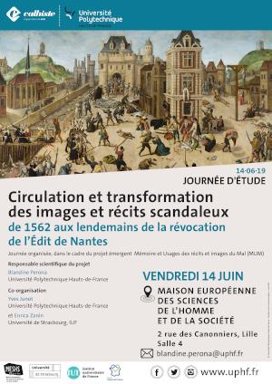 Retracer la circulation et la transformation des images et récits scandaleux – Programme de la journée du 14 juin 2019